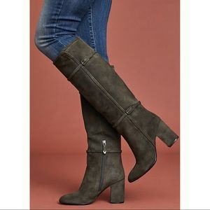 Anthro Bruno Premi Double-Buckle Riding Boots